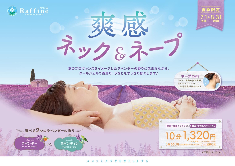☆爽感ネック&ネープキャンペーン☆